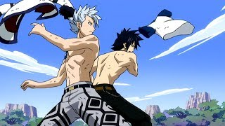 Fairy Tail: Gray and Lyon vs Racer English Dubbed