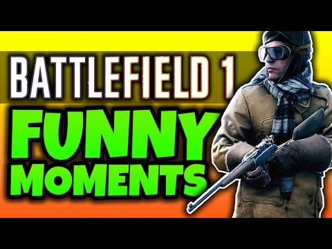 watch Battlefield 1: Funny Moments! - (BF1 Multiplayer Gameplay)