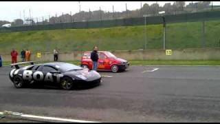 Lamborghini Murcielago vs. Fiat 500 cinquecento