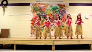 Hula Dancing Kindergarteners