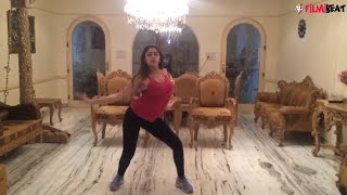 Shivaay actress Sayyesha Sehgal shares sizzling dance video for fans, watch here | Filmibeat