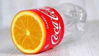 4 Awesome Life Hacks with Plastic Bottles