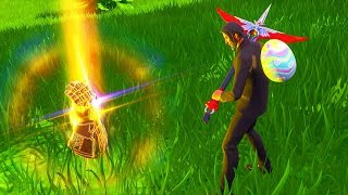 How to get the INFINITY GAUNTLET FIRST!! (Thanos) Fortnite Battle Royale