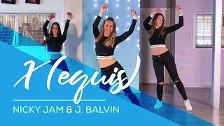 X (EQUIS) Nicky Jam & J. Balvin - Easy Fitness Dance Choreography - Baile - Coreografia