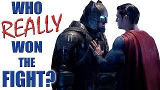 Batman V Superman - Who REALLY Won the Fight?