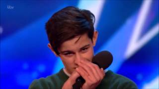 Singer Reuben Grey Sings To Girlfriend Gets SHOCKED! | Auditions 2 | Britain's Got Talent 2017