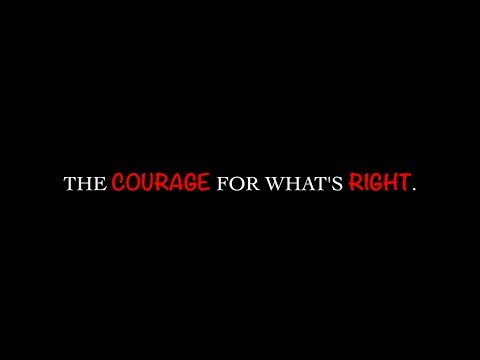 The Courage For What's Right - TheCrucible/GNGL iMovie Project Inspirational Video