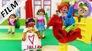 عائلة الطيور: جوليان في حضانة جديدة -مع سرب من الفتيات؟ سلسلة بلايموبيل فيلم للأطفال