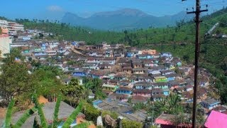 The hill station town - Valparai