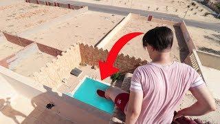 انط في المسبح من إرتفاع 30 متر !! (تحدي الموت !!!)