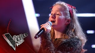 Hayley performs 'Love Yourself': Blinds 3 | The Voice Kids UK 2017