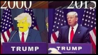[ AMAZING ] The SIMPSONS predicted TRUMP presidency 15 years ago