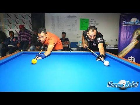 Final Rodolfo Covarrubias vs Iván Morales Abierto Carambola 3 Bandas San Marcos 2018