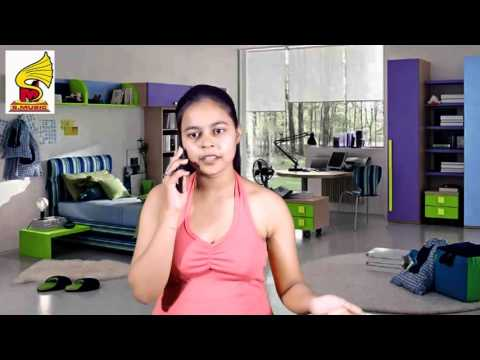 College girl Phone talk with boy friend - Hot Lovers talk in Hindi