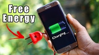 How to make Free Energy Mobile Charger at HOME