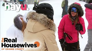 Ski Slopes And Threesomes | The Real Housewives of Orange County