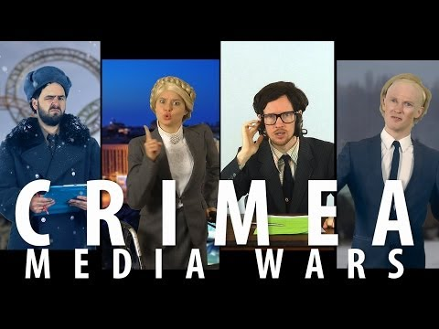 Crimea Media War Games feat. Abby Martin RAP NEWS 23