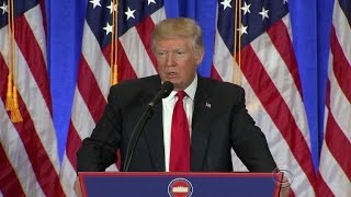 Donald Trump bashes intelligence agencies in press conference