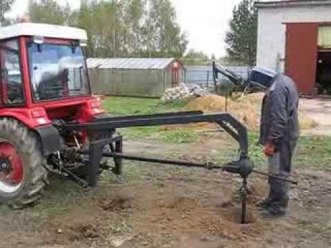 Ямобур своими руками на трактор т 40