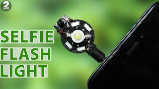 How to Make a Selfie Flash Light at Home
