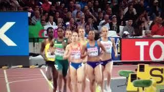800m Women Semifinal 2 IAAF World Champs London 2017