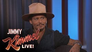 Johnny Depp Reveals Why He Won't Teach His Son to Drive