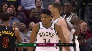 Milwaukee Bucks vs Cleveland Cavaliers | December 14, 2018