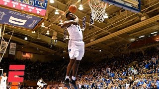 Top 10 Plays of Saturday in College Hoops including Zion