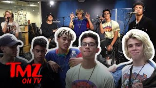 Pretty Much Explains How They Picked Their Band Name | TMZ TV