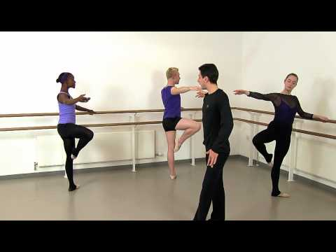 Adult Ballet Class - Rond de jambe DVD/download with Glauco Di Lieto