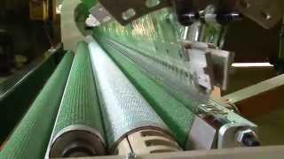 Shading net making machine