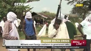 Niger Delta Avengers want foreign mediators in government talks