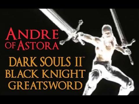 Dark Souls 2 Black Knight Greatsword Tutorial (dual wielding w/ power stance)