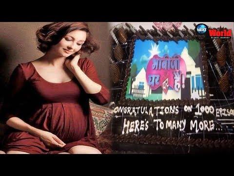 Xxx Mp4 Bhabhi Ji Ghar Par Hain Saumya Tondon Starts Preparation To Welcome Her Child 1000 Episode Bash 3gp Sex