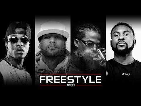 Freestyles live: BOOBA, KALASH, NISKA & DAMSO dans Couvre Feu sur OKLM Radio