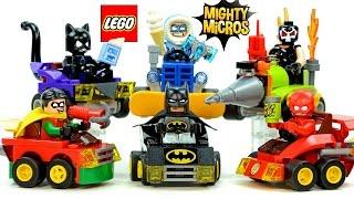LEGO® DC Comics Mighty Micros: Batman v Catwoman Robin v Bane & Flash v Captain Cold