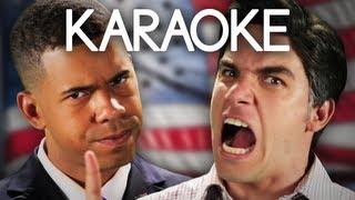 [KARAOKE ♫] Barack Obama vs Mitt Romney. Epic Rap Battles of History. [INSTRUMENTAL]