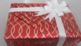 Part 2 Flower Bow Tie - How to wrap your gift in an elegent way for Holidays