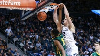 Eric Mika Sneaks In A Dunk For BYU | CampusInsiders
