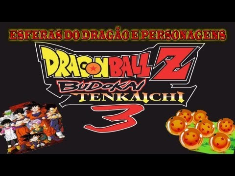 Dragon Ball Z Budokai Tenkaichi 3 Esferas Do Dragão Personagens