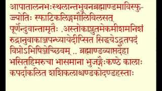 RUDRAM PART 1 Rudra Prashna -  Namakam