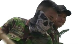 """Indonesian Military Called In To Deal With """"A New And Strange Kind Of Enemy"""" PLASTIC!"""