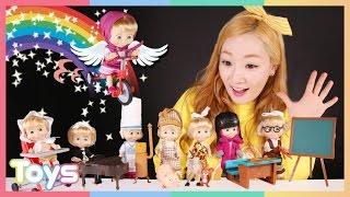 마샤와 곰 장난감 엘리의 인형 놀이 | 캐리앤 토이즈