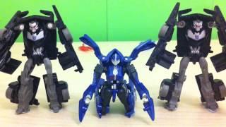 Transformers Prime Stop Motion: Desktop Danger Part 2.