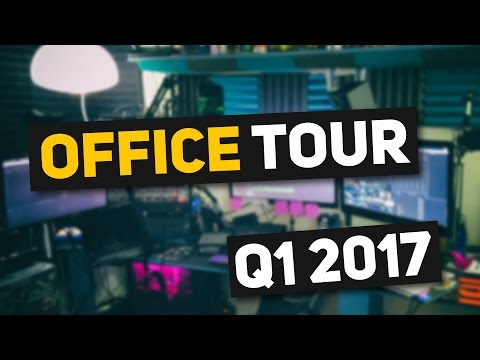 HOW MANY SCREENS YouTube Office Tour & Streaming Setup