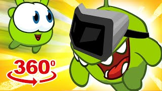 Om Nom 360°: History Repeats Itself | Om Nom Stories | Cartoons for Children | HooplaKidz TV