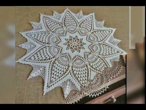 Tığişi örgü çeyizlik dantel modelleri & Crochet