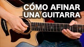 Cómo afinar una guitarra Perfectamente (método recomendado)  guitarraviva