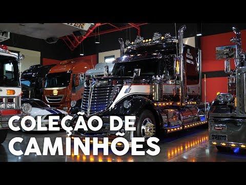 Colecionador Tem 8 Caminhões na Sala de Estar Webmotors