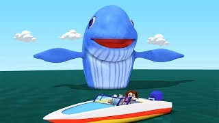 Big Blue Whale | Kindergarten Nursery Rhymes for Children | Song for Babies by Little Treehouse